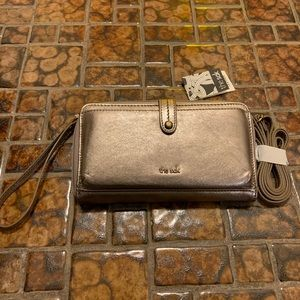 THE SAK 3-IN-1 PHONE WALLET, CROSSBODY- PYRITE